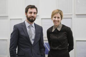 Alex Nogueras / Rebeca Blanchard. Foto Roberto Ruiz